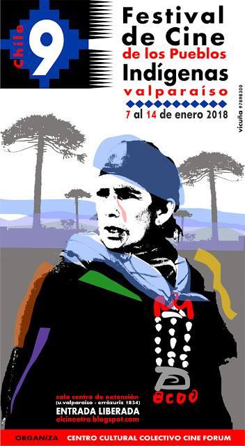 """Flor Brillante en el """"IX Festival de Cine de los Pueblos Indígenas"""" en Valparaíso,Chile"""