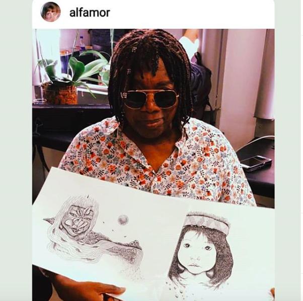 Flor Brilhante encontra Milton<3