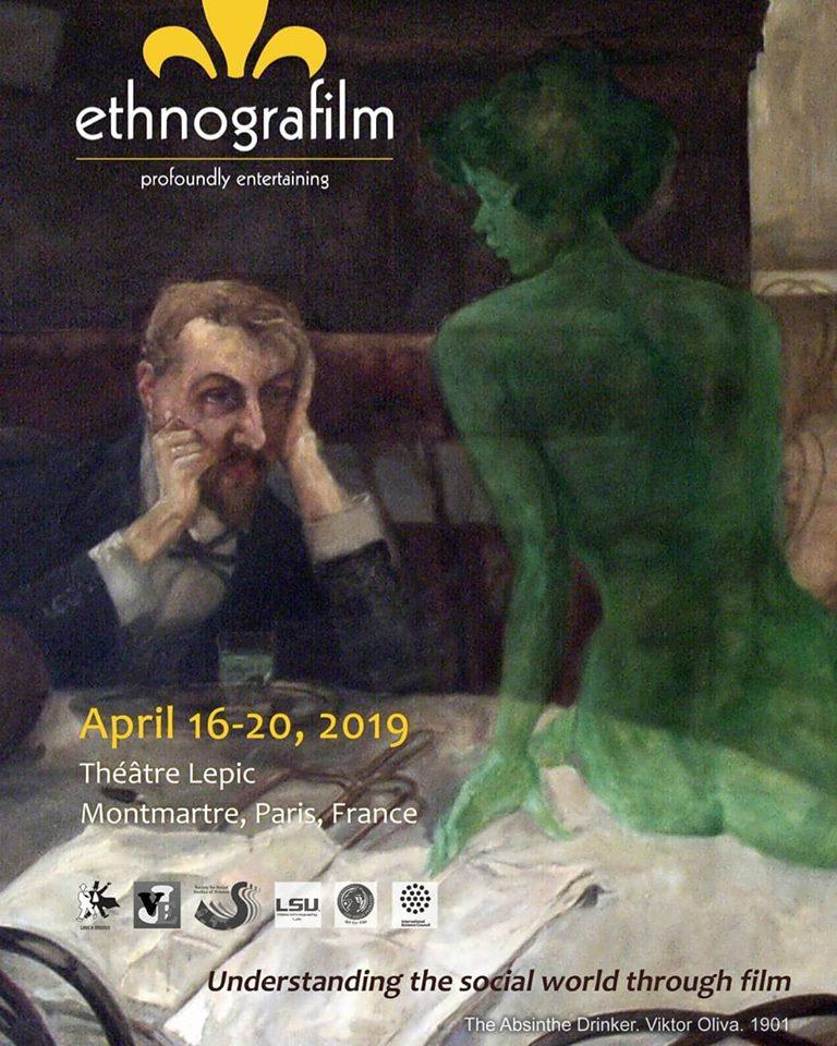 Curadoria para o Festival Ethnografilm, emParis.